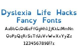 OpenDyslexic font