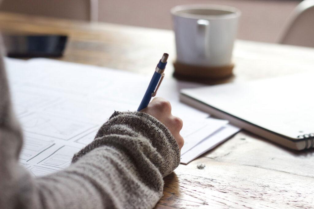 writing, pen